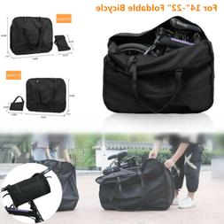 """14-22"""" Folding Bikes Bicycle Scooter Waterproof Carry Storag"""