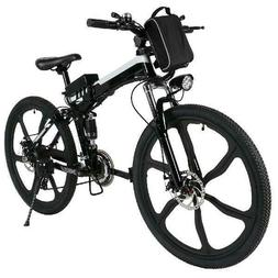 ANCHEER 26''2 Woking Models Foldable Electric Bike With Supe